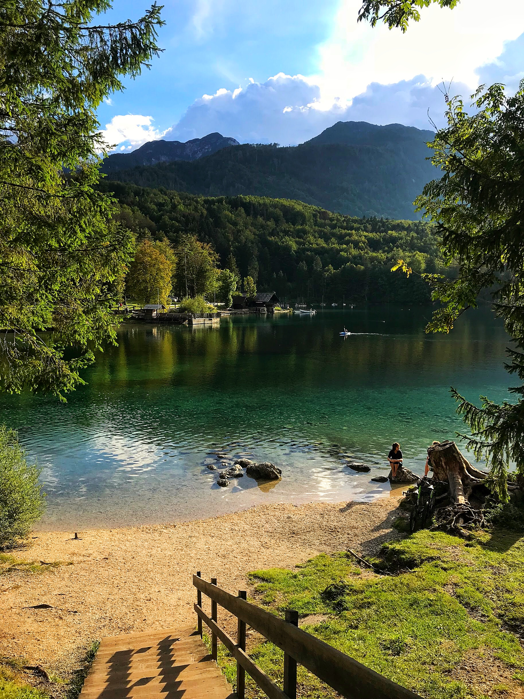 Hidden gem lakes in Slovenia