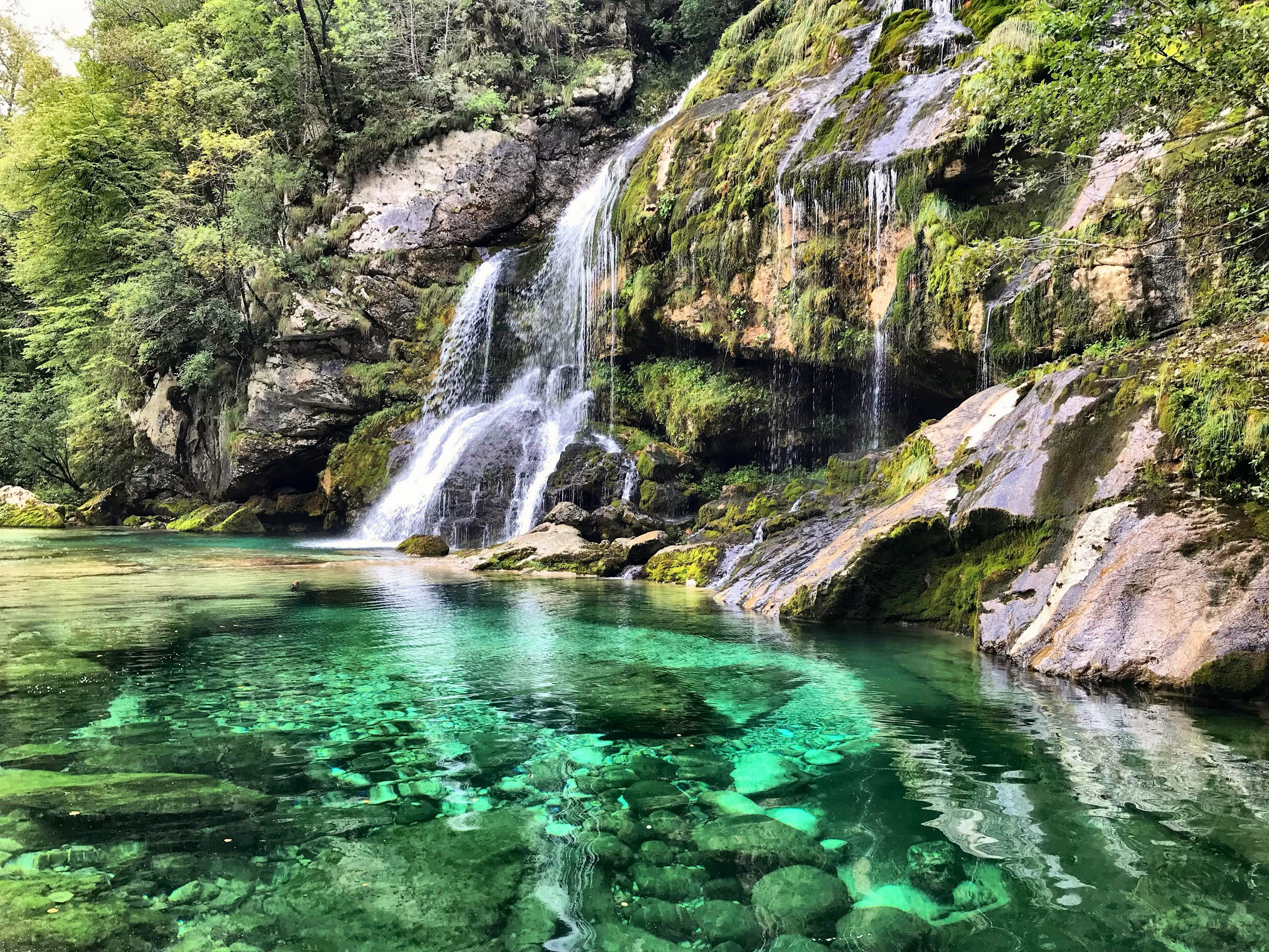 Another turquoise hidden gem in Slovenia