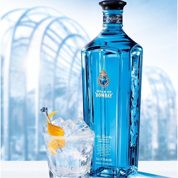 Buy the Star of Bombay Gin from Bombay Sapphire distillery