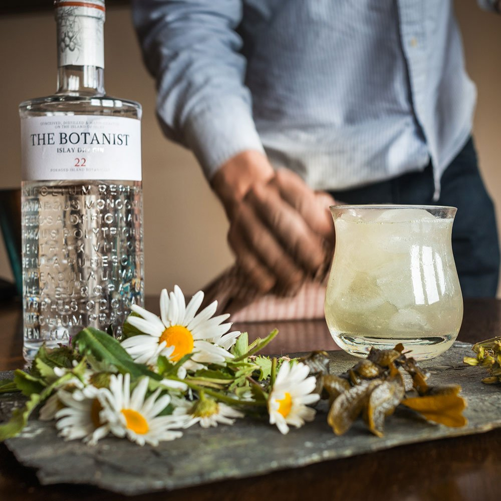 Buy the Botanist Islay dry gin today in the UK