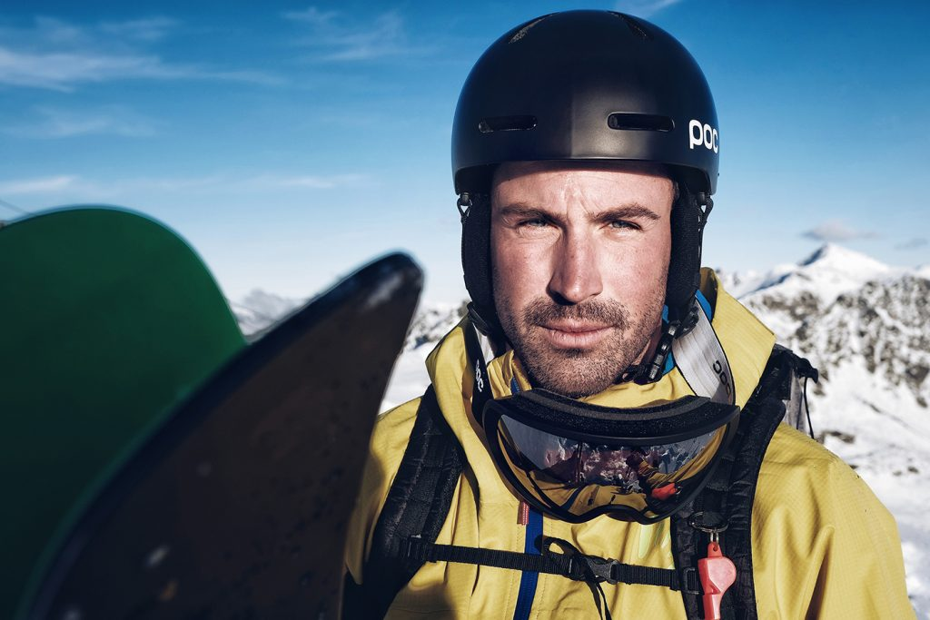 Slovenian mountain guide Bine Zalohar portrait